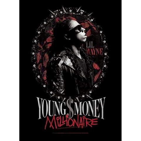 Lil Wayne Young Money Fabric Poster