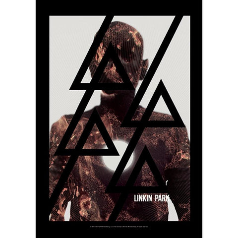 Linkin Park Burn It Fabric Poster