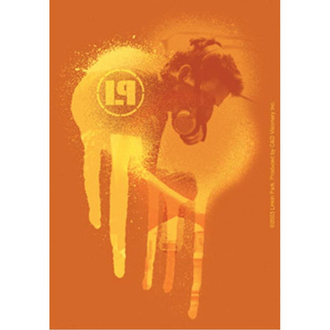 Linkin Park Gold Drip Sticker
