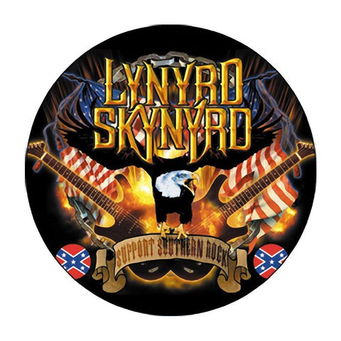 Lynyrd Skynyrd Guitars & Eagle Button