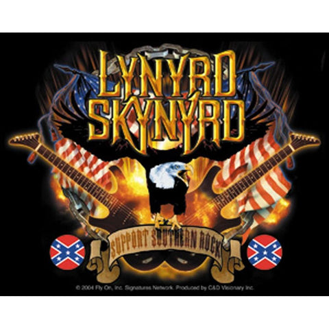 Lynyrd Skynyrd Guitars & Eagle Sticker
