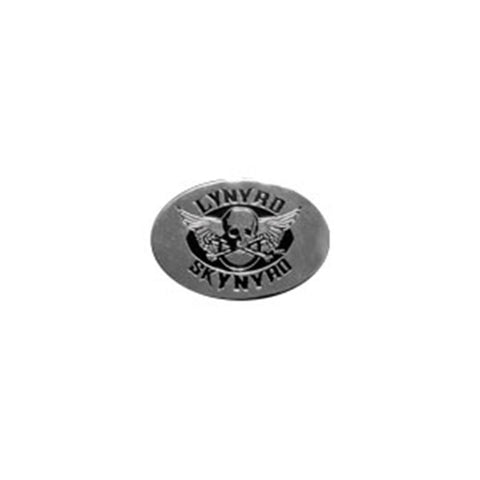 Lynyrd Skynyrd MC Club 3cm Silver Metal Sticker