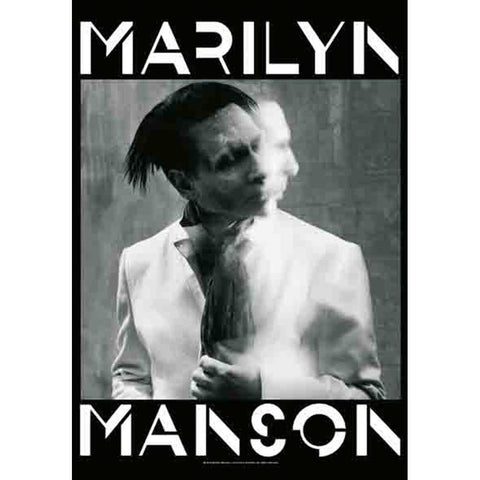 Marilyn Manson Exposure Fabric Poster