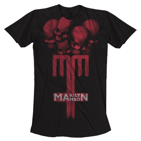 Marilyn Manson Skull Cross Men's T-Shirt