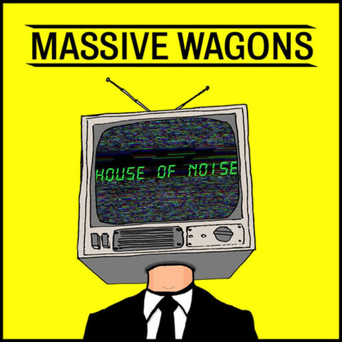 Massive Wagons - House Of Noise - Vinyl LP