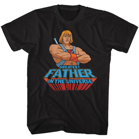 Masters Of The Universe Special Order Greatest Dad Adult S/S T-Shirt