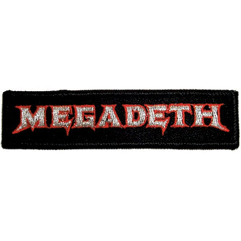 Megadeth Band Logo Embroidered Patch