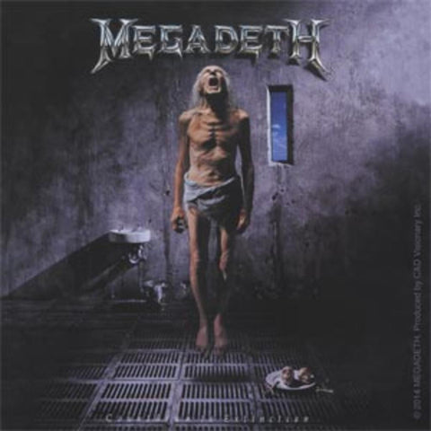 Megadeth Countdown To Extinction Sticker