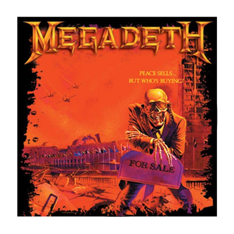 Megadeth Peace Sells Button