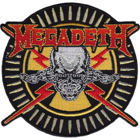 Megadeth Skull And Bullets Patch