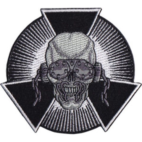 Megadeth Skull Burst Patch