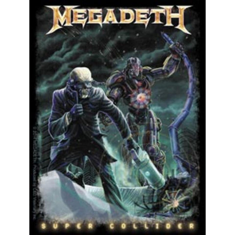 Megadeth Super Collider 2 Sticker
