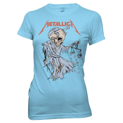 Metallica Cartoon Reaper Women's T-Shirt