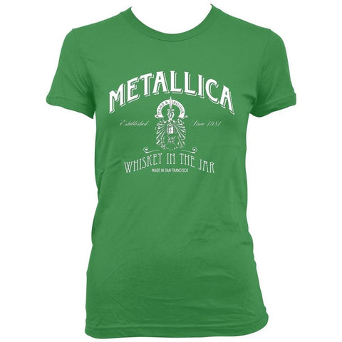 Metallica Green Whiskey In The Jar Women's T-Shirt