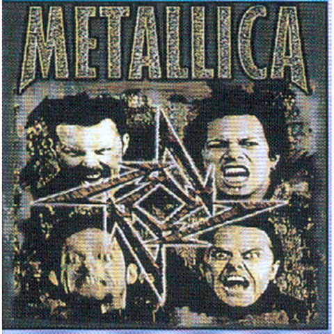 Metallica Group Sticker