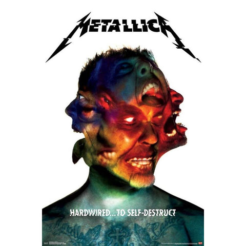 Metallica Hardwired Poster