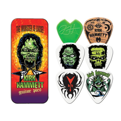 Metallica Kirk Hammet Monster 6 Pack Guitar Pick Tin