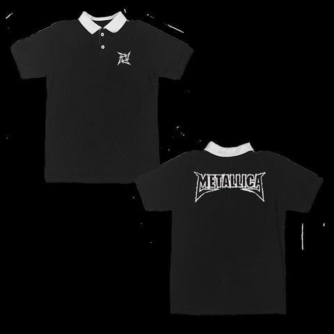 Metallica Ninja Star Men's Polo T-Shirt