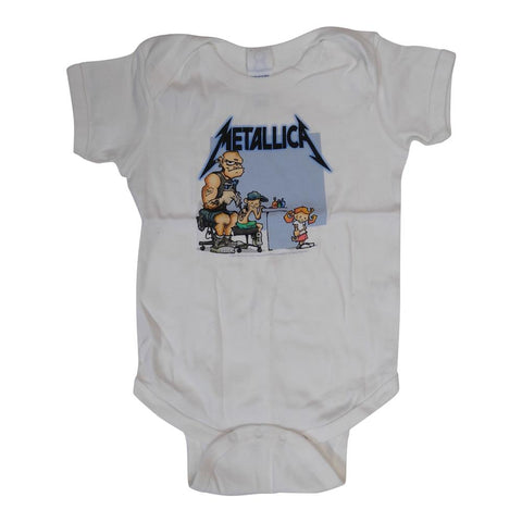 Metallica Cartoon Infant One-Piece Bodysuit