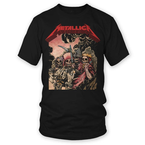 Metallica The Four Horsemen Men's Black T-Shirt