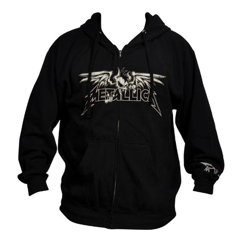 Metallica Winged Scary Men's Zip Hoodie