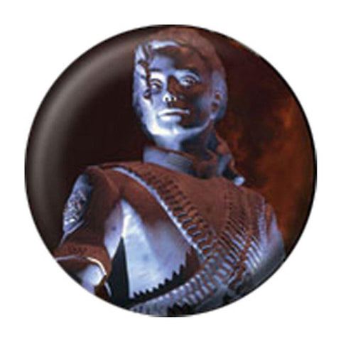 Michael Jackson Statue Button