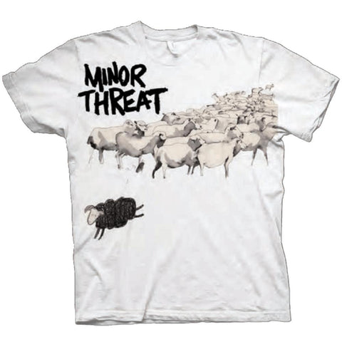 Minor Threat Out of Step Men's White T-Shirt