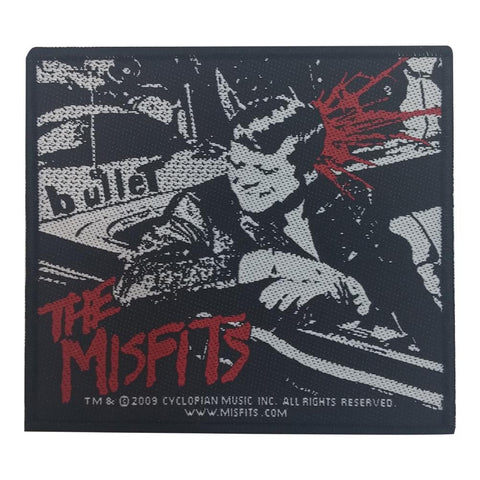 Misfits The - Bullet Woven Patch