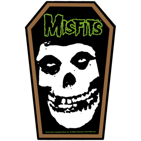 Misfits Coffin Woven Patch