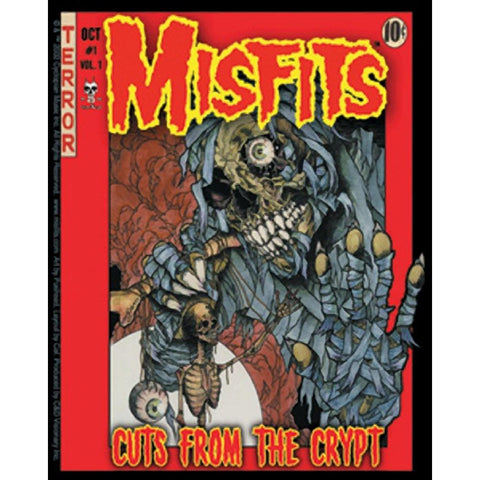 The Misfits Cuts From The Crypt Sticker