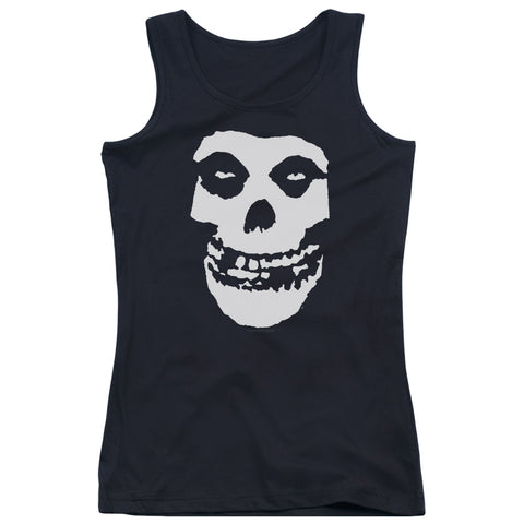Misfits Special Order Fiend Skull Junior's 100% Cotton Tank Top