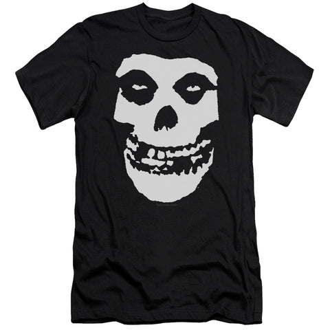 Misfits Special Order Fiend Skull Men's Premium Ultra-Soft 30/1 100% Cotton Slim Fit T-Shirt - Eco-Friendly - Made In The USA