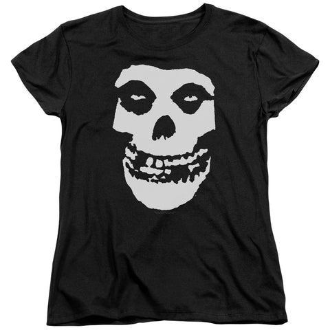 Misfits Special Order Fiend Skull Women's 18/1 100% Cotton Short-Sleeve T-Shirt