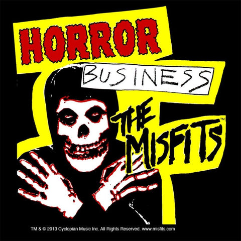 Misfits Horror Business Woven Patch