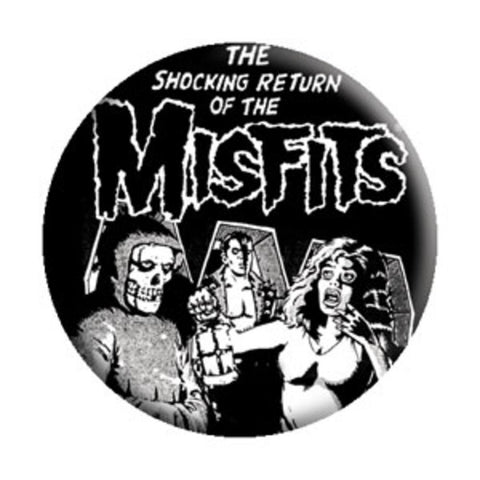 Misfits Return Of Button