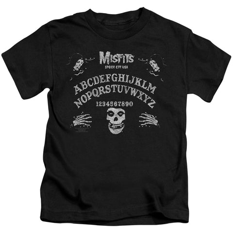 Misfits Special Order Ouija Board Juvenile 18/1 100% Cotton Short-Sleeve T-Shirt