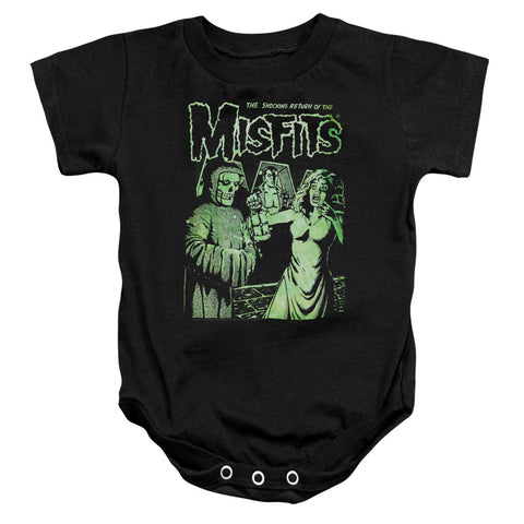 Misfits Special Order The Return Infant's 100% Cotton Short-Sleeve Snapsuit