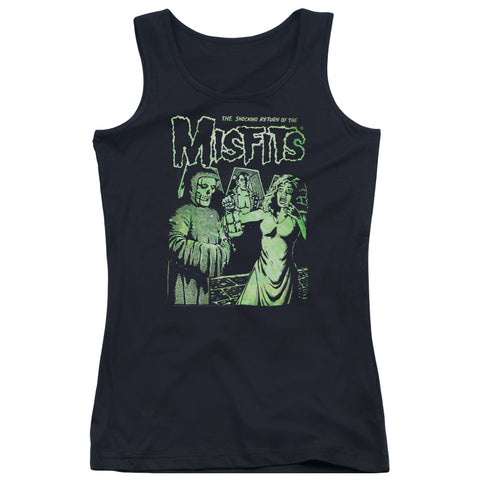 Misfits Special Order The Return Junior's 100% Cotton Tank Top