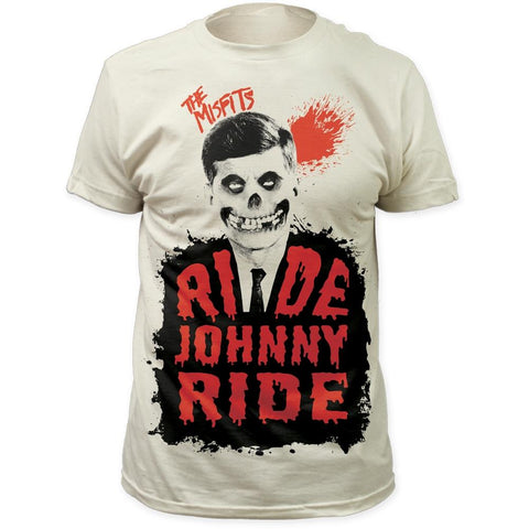 Misfits The Ride Johnny Ride Men's Fitted T-Shirt