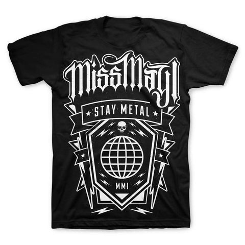 Miss May I Globe Men's T-Shirt