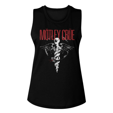 Motley Crue Special Order Dr Feel Good Ladies Muscle Tank