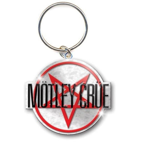 Motley Crue Shout At The Devil Logo Keychain