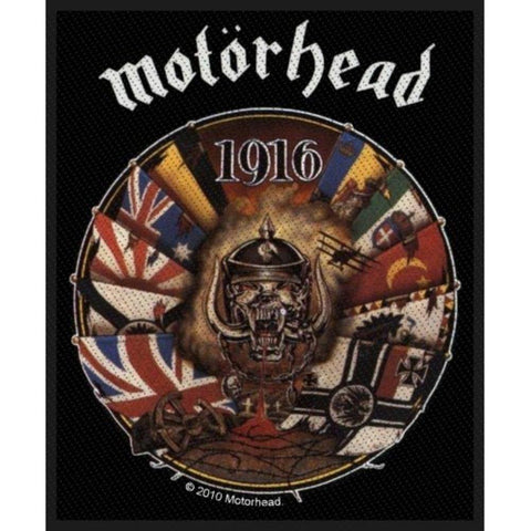 Motorhead 1916 Woven Sew-on Patch
