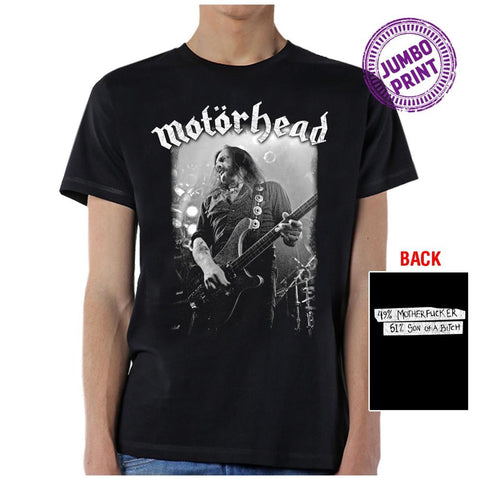 Motorhead 49 51 Men's Black T-Shirt