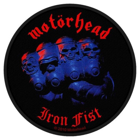 Motorhead Iron Fist Album Woven Sew-on Patch