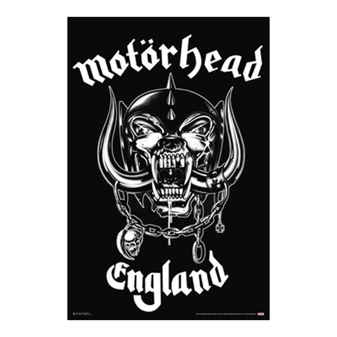 Motorhead Made in England Poster