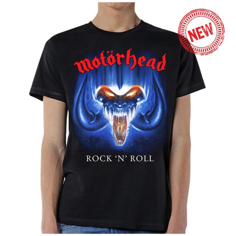 Motorhead Rock n' Roll Men's Black T-Shirt