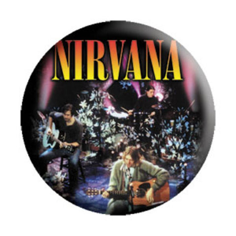 Nirvana Acoustic Button