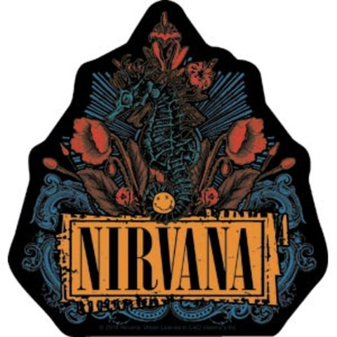 Nirvana Floral Sticker