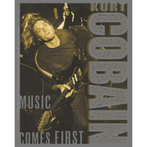 Nirvana Kurt Cobain Music Comes First Sticker